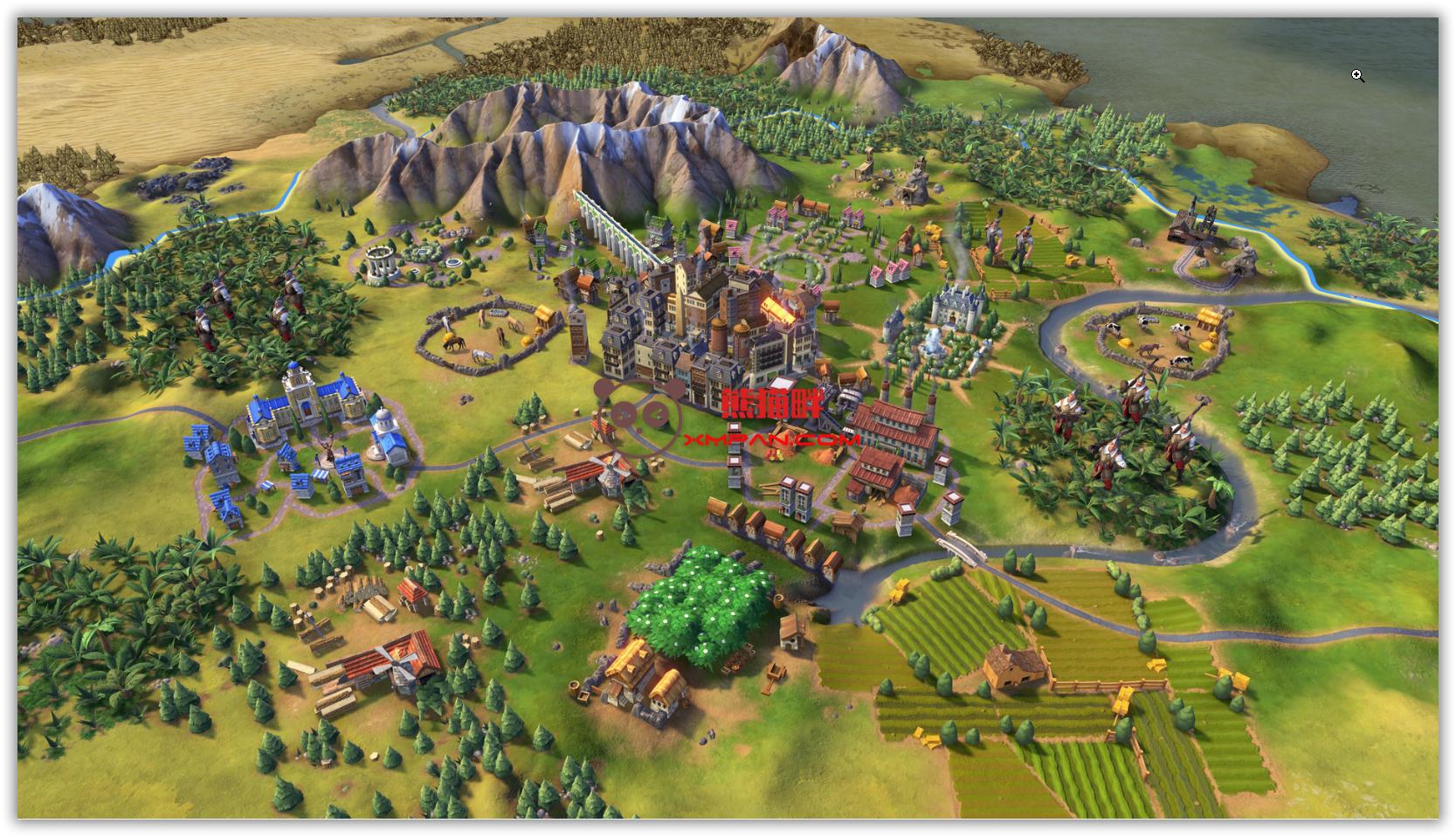 """文明6,含最新DLC""""埃塞俄比亚"""",解压即玩,文明6神级难度胜利攻略"""